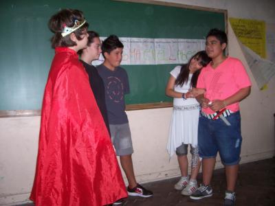 EL TEATRO EN CLASE